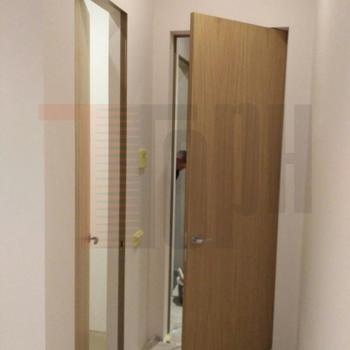 Скрытые шпонированные двери